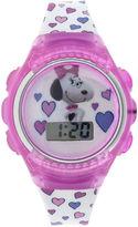 Character Peanuts Snoopy Kids Flashing Digital Watch