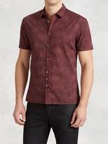John Varvatos Cotton Printed Shirt