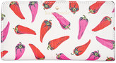 Kate Spade Hot Pepper-Print Stacy Wallet