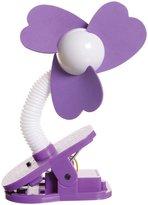 Dream Baby Dreambaby Stroller Fan - Purple/White