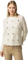 Tommy Hilfiger Jeweled Wool Sweater