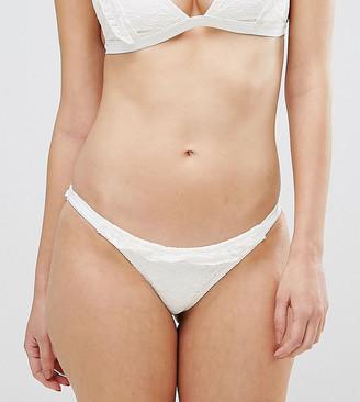 Peek & Beau Crochet Ruffle Bikini Bottom