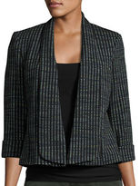 Nipon Boutique Textured Knit Blazer