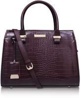 Carvela Holly croc zip bag