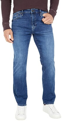 Mavi Jeans Zach Straight Leg in Mid Blue Organic Move (Mid Blue Organic Move) Men's Jeans