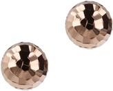 Bronzo Italia 14mm Diamond Cut Bead Earrings