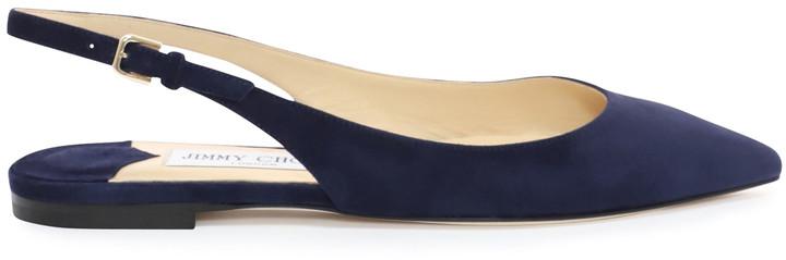 16a5170fab Navy Slingback Shoes - ShopStyle