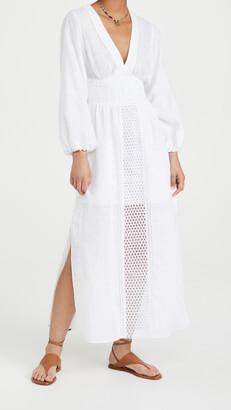 Smock Waist Crochet Dress