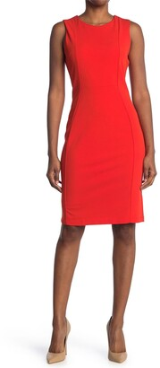 Marina Sleeveless Sheath Dress