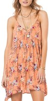 O'Neill Women's 'Anja' Floral Print Swing Dress