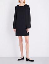 Armani Collezioni Cape-back satin dress