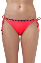 Topshop Blanket Stitch Side Tie Bikini Bottoms
