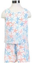 Nautica Girls' Starfish Romper (8-16)