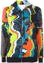Versace 'Jagged Baroque' print hoodie