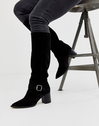 Free People dahlia slouch calf length boot