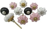 Littlethings Vintage Ceramic Knobs Kids Dresser Knobs Cabinet Hardware Cupboard Pull