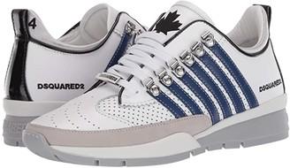 DSQUARED2 251 Sneaker (White/Blue) Men's Shoes
