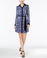 INC International Concepts Paisley-Print Shirtdress, Only at Macy's