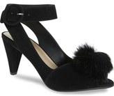 Seychelles Seduce Genuine Rabbit Fur Pompom Sandal (Women)