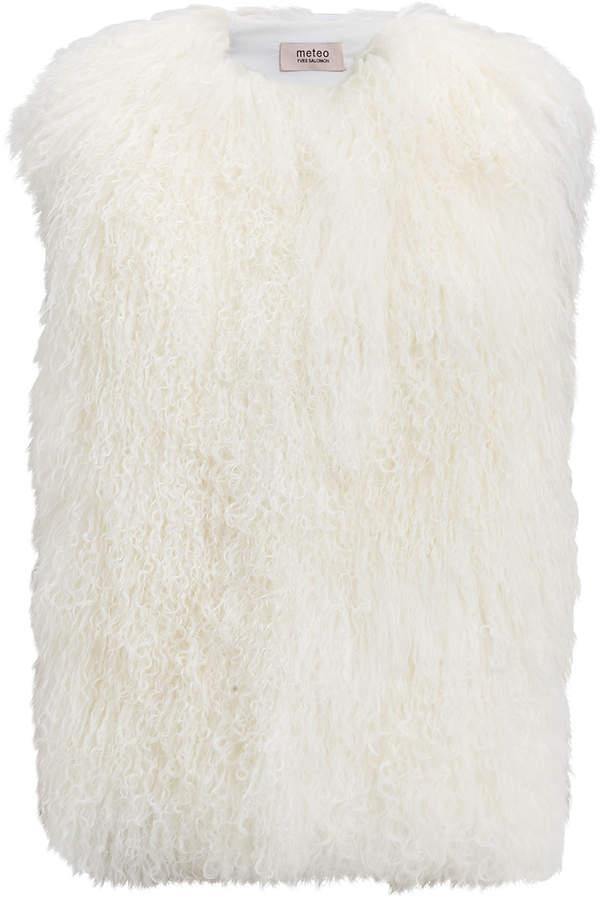 Yves Salomon Mongolian Shearling Vest
