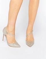 Asos PETAL Asymmetric Pointed High Heels
