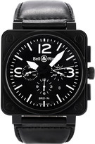 Bell & Ross BR0194-BL-CA Aviation watch