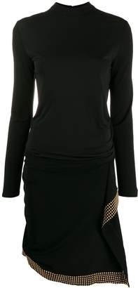 Roberto Cavalli Studded Dress