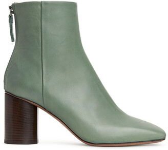 Arket Square-Toe Leather Boots
