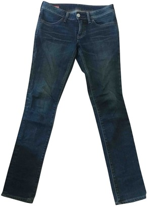 Edwin Blue Cotton - elasthane Jeans for Women