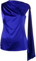 Osman adena sleeveless scarf top - women - Polyester/Triacetate - 6