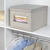 InterDesign Chevron Fabric Closet and Dresser Drawer Storage Organizer