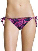 Tommy Bahama Jacobean Floral Beaded String Bikini