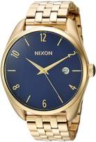 Nixon Women's 'Bullet' Quartz Stainless Steel Casual Watch, Color:Gold-Toned (Model: A4182625-00)