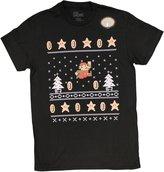 Fifth Sun Men's Nintendo Super Mario Bros Ugly Christmas Sweater T-Shirt