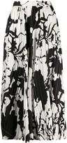 Salvatore Ferragamo patterned A-line skirt