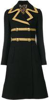 Dolce & Gabbana military coat - women - Polyester/Spandex/Elastane/Merino - 40