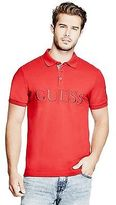 GUESS Men's Cadler Patch Polo