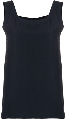Chanel Pre Owned 1990 Scoop Neck Top