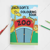 My 1st Years Personalised Colouring Book Zoo