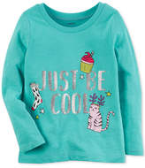 Carter's Just Be Cool Cotton T-Shirt, Toddler Girls (2T-5T)