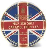 Charbonnel et Walker Union Jack Milk Sea Salt and Caramel Truffles