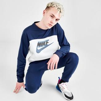 Nike Men's Sportswear Mixed Fleece Crewneck Sweatshirt