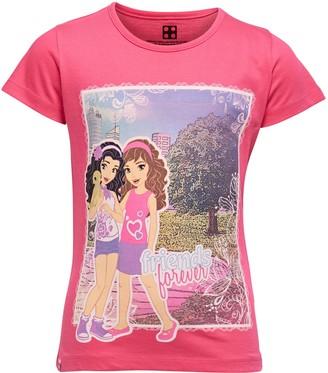 Lego Wear Girl's Friends M-72179-Langarmshirt Longsleeve T-Shirt