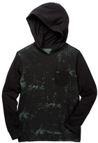 RVCA Set Up Hooded Tee (Big Boys)
