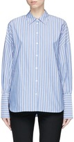 Tibi 'Garcon' stripe poplin shirt
