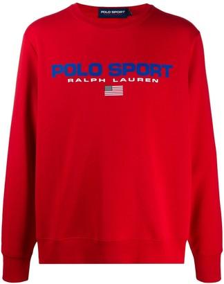 Polo Ralph Lauren Sport Logo-Print Sweatshirt