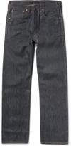 Levi's 1947 501 Shrink-to-fit Selvedge Denim Jeans - Blue