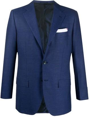 Kiton Single-Breasted Tailored Blazer