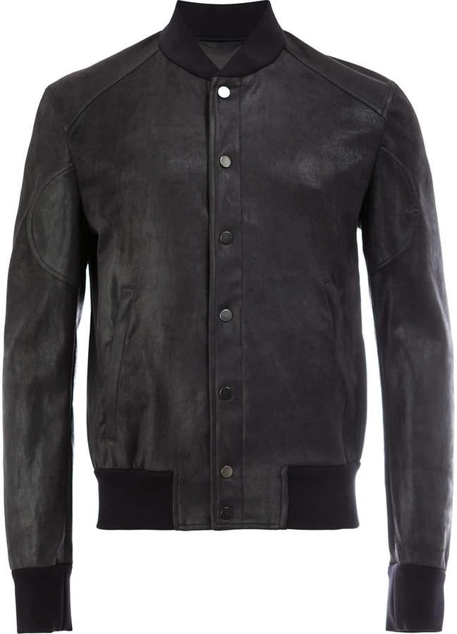 Drome button up bomber jacket