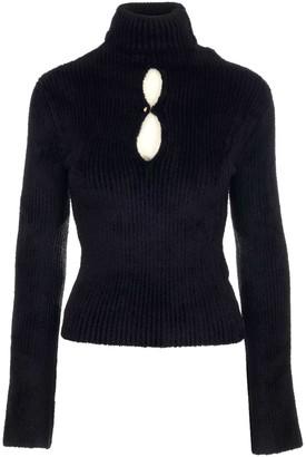MONCLER GENIUS Moncler 1952 Cut Out Detailed Knit Sweater